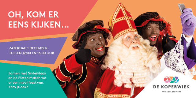 Event | Sinterklaas in De Koperwiek