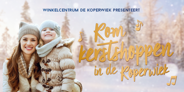 Kerstshoppen in de Koperwiek