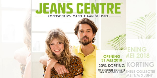 Nieuws | Opening Jeans Centre